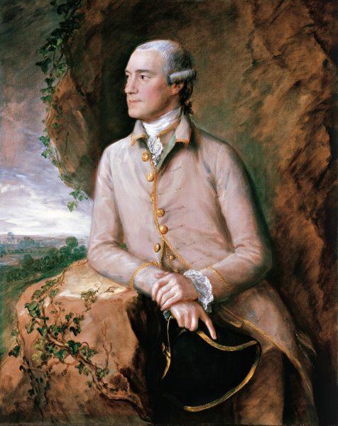 Portrait auf welchem Thomas Gainsborough, Joshua Grigby abgebildet hat. Es stammt aus dem 18. Jahrhundert.